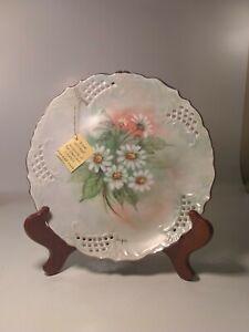 "Decorative Fine China And Ceramic 8.5 "" plate Made By Deanna Altenhof signed ..."