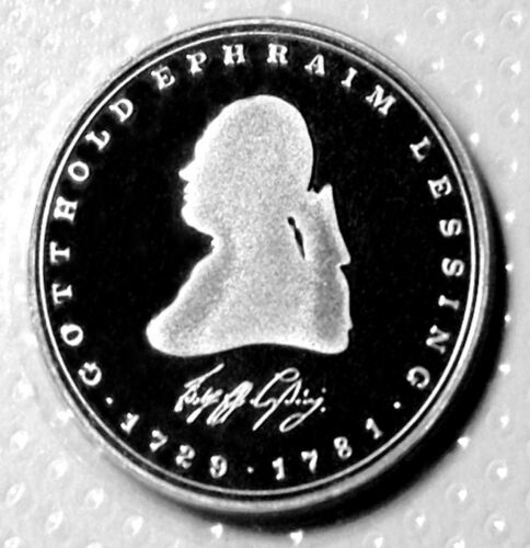 5 Mark 1981 Germany PROOF Sealed Perfect Mint condition. Lessing Philosopher