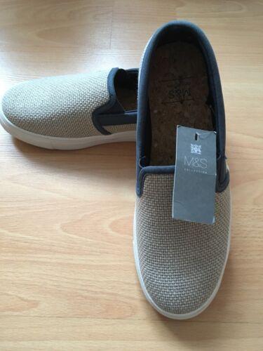Avec Tailles M Bleu s Et Marine Uk6 Des Pompes Chaussures Neutre Collection Hommes Uk8 Escarpins SaInwAPTaq