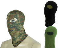 Airsoft Swat Style 2 Holes Balaclava Hood Face Mask 3 Colors Bk/od/flecktarn A