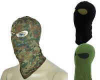 Airsoft Swat Style 2 Holes Balaclava Hood Face Mask 3 Colors Bk/od/flecktarn A