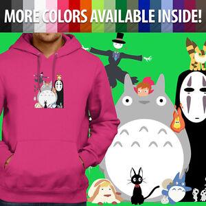 d2f02c56e6e6 Studio Ghibli Spirited Away Totoro Howl Ponyo Pullover Sweatshirt ...