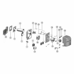 Oil pre Heater Suitable For Intercal Bg SLV 10/B SLV 100/110 B And Bnrm 100/110