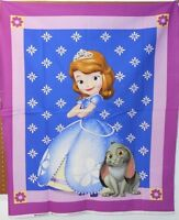 1 Disney sofia Wallhanging/lap Quilt Panel Fabric