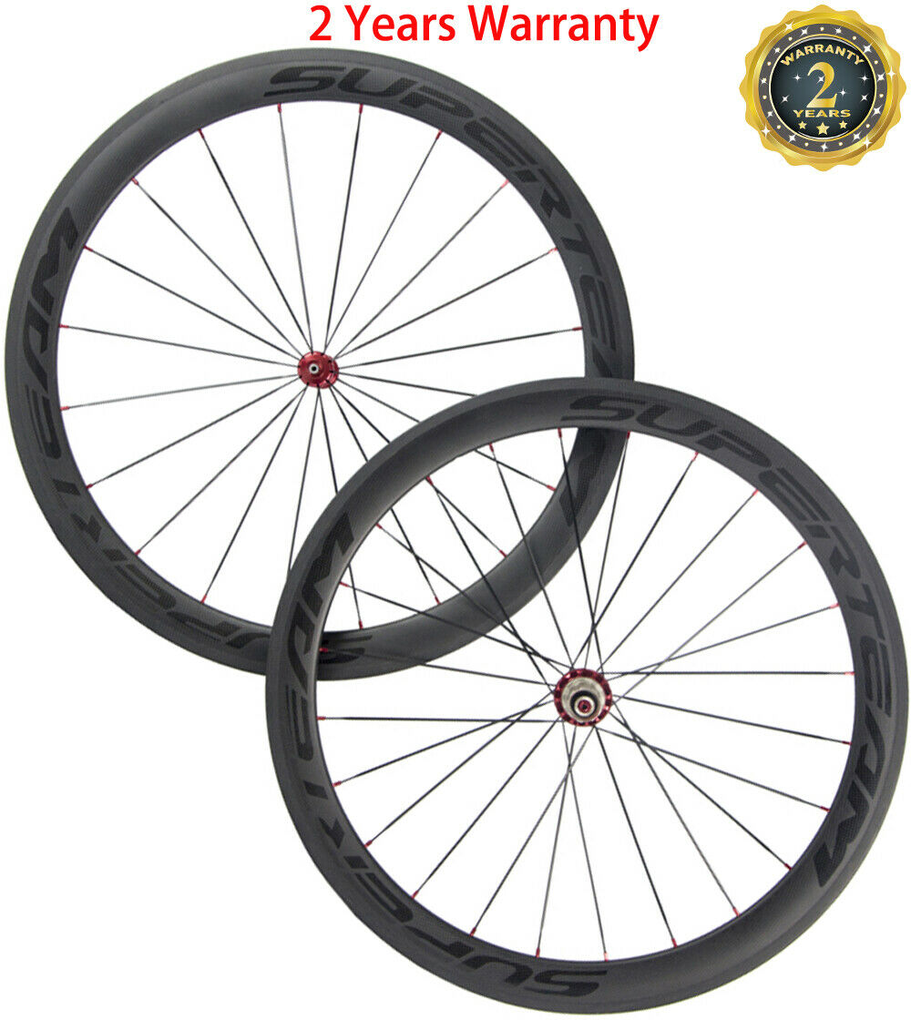 Carbon Wheelset 38 50 60 88mm Ceramic Beaing Carbon Wheels Clincher 23mm Width