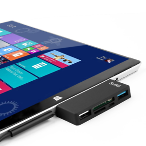 Surface-Pro-Hub-Adapter-Card-Reader-High-Speed-USB-3-0-Transport-and-USB-2-0-or