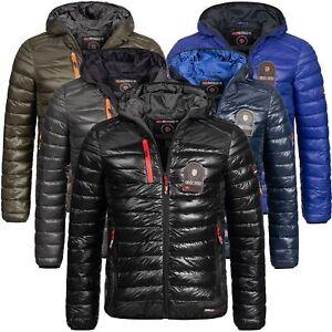 Geographical-Norway-warme-Designer-Herren-Winter-Stepp-Jacke-Winterjacke-Briout