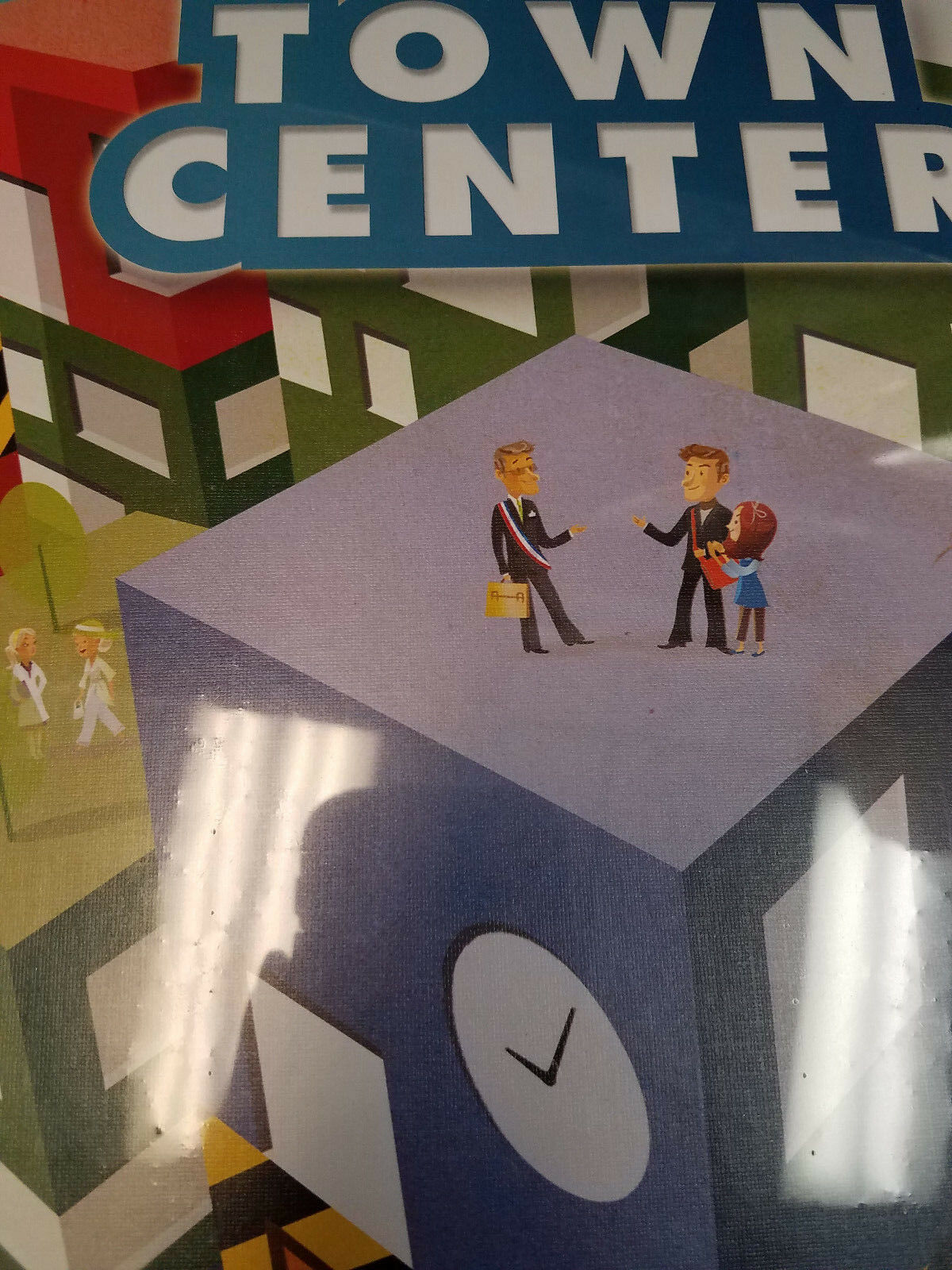Town Center-ludicreations Juegos Juego De Mesa  nuevo
