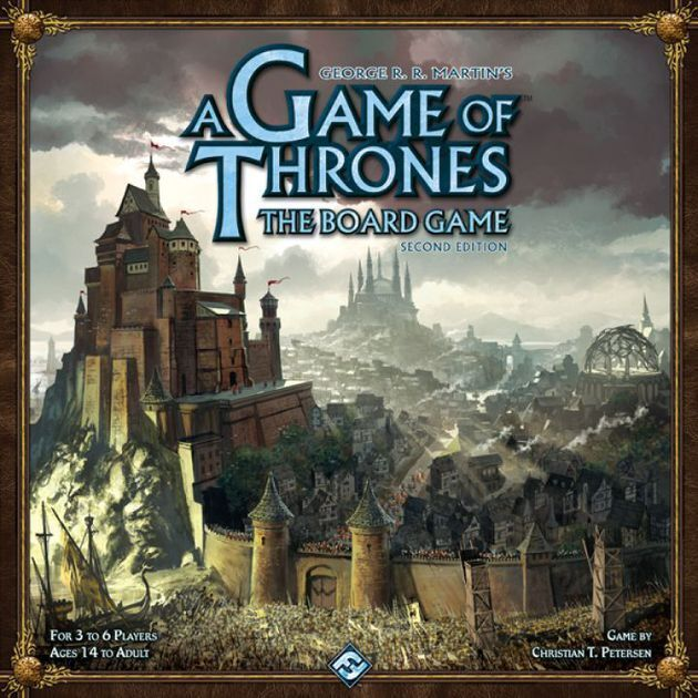 A Game of Thrones The Board Game  2nd Edition Fantasy Flight Strategy Game
