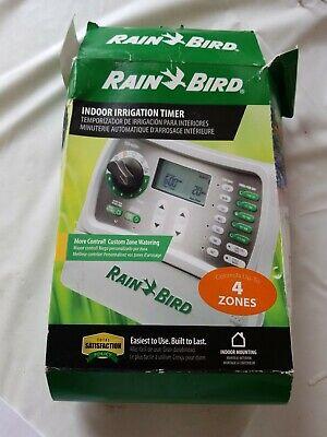 RAIN BIRD 4-STATION INDOOR IRRIGATION TIMER MODEL #SST-400i New In Box
