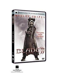 Brand-New-DVD-Blade-II-New-Line-Platinum-Series-Wesley-Snipes-Ron-Perlman-2-D