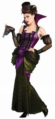 Costume Deluxe Victorian Lady VAMPIRESS Taglia S 34//36 M 38//40 L 42//44