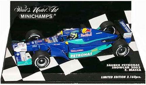 Minichamps Sauber Petronas Showcar 2002 - Felipe Massa 1 43 Scale