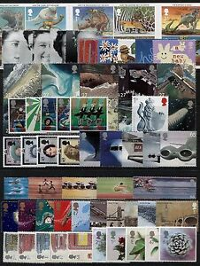 GB-2002-Commemorative-Stamps-Year-Set-Unmounted-Mint-no-m-s-UK-Seller