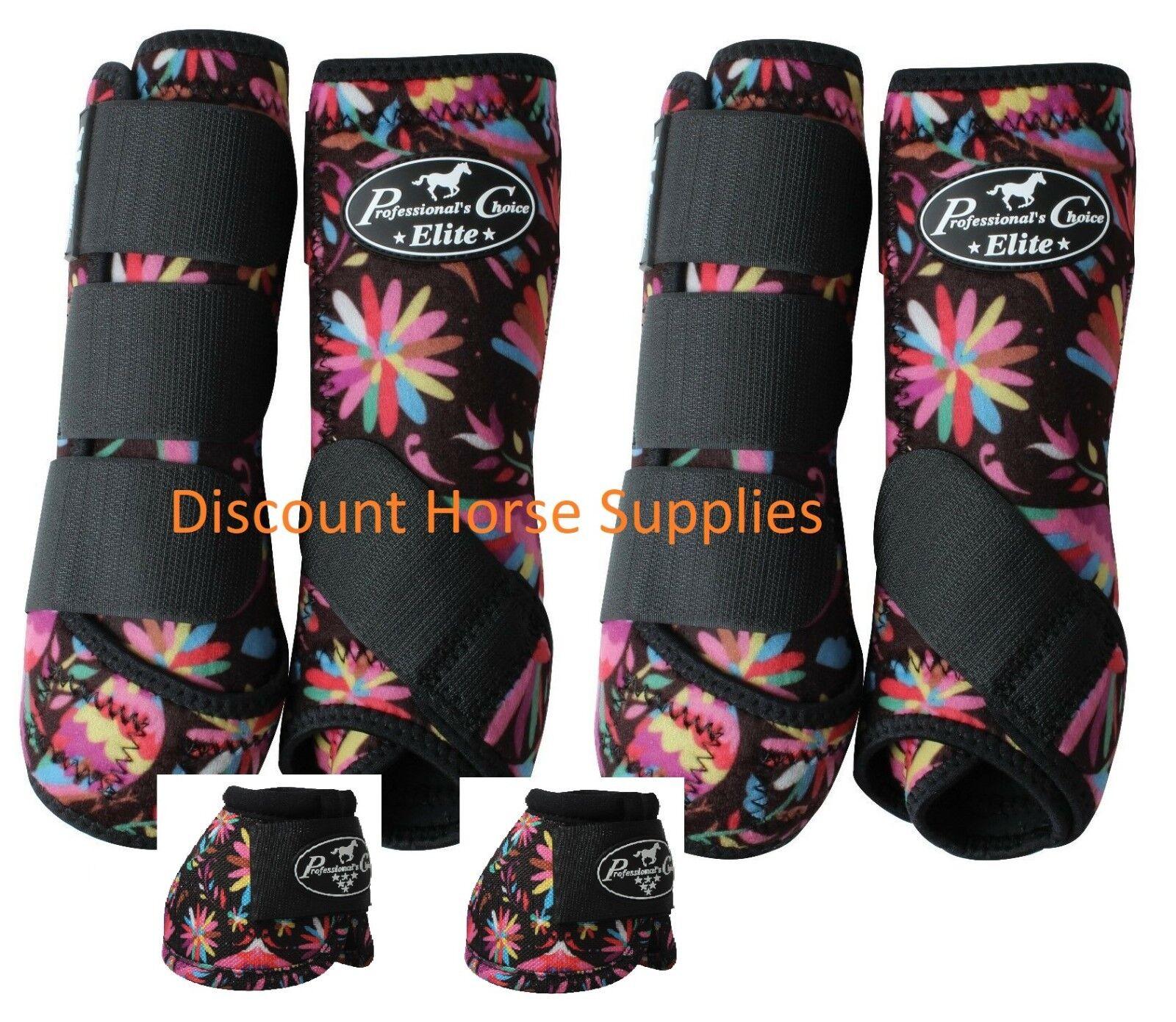 Professional's Choice Ventech Elite valor 4 Pack botas Fiesta con campanas M Pro Med