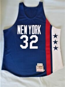 Mitchell Ness M N Authentic Julius Dr J Erving New York Nets jersey ... 19b31a54e