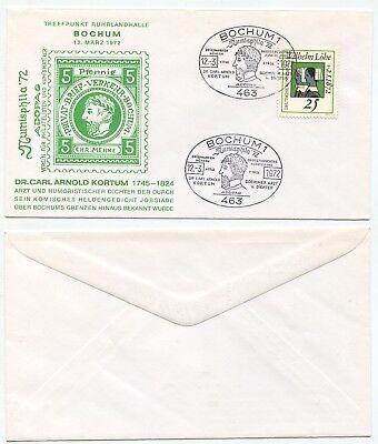 06442 - Sonderstempel: Numisphila '72 - Bochum 12.3.1972