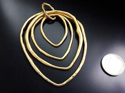 CZ-44PO De 1 A 15 Colgante Alta calidad Zamak CORAZON PLATEADO abalorio collar