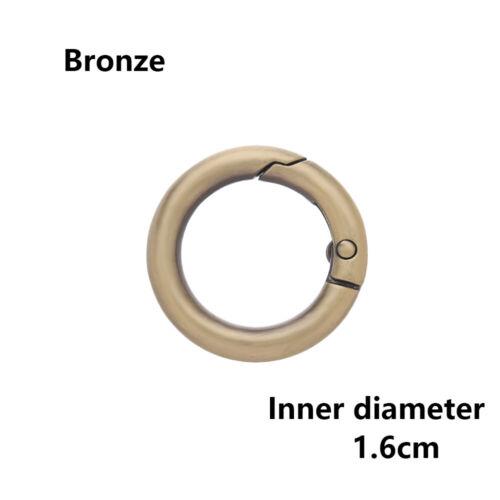 Snap Clasp Clip Bag Belt Buckle Spring O-Ring Buckles Carabiner Purses Handbags