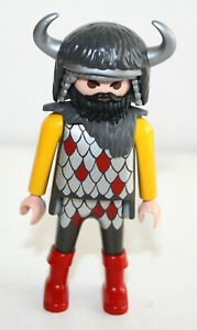 PLAYMOBIL-3327-5385-GUERRIER-DRAGON-ROUGE-CHEVALIER