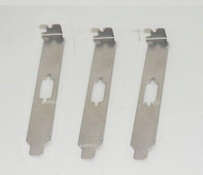 10x Standard Bracket Panel for Single Serial Port DB9 9pin RS232 COM