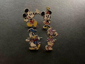 Pantalones-cortos-de-Mickey-Booster-Set-Minnie-Donald-Margarita-4-Disney-Pins-103782