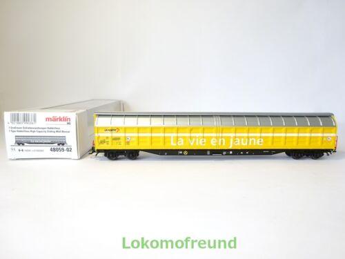 "neuf dans sa boîte l/'Agglomération-schiebewand voiture habbiillnss /""LA POSTE/"" Märklin h0 48059-02 NEUF"