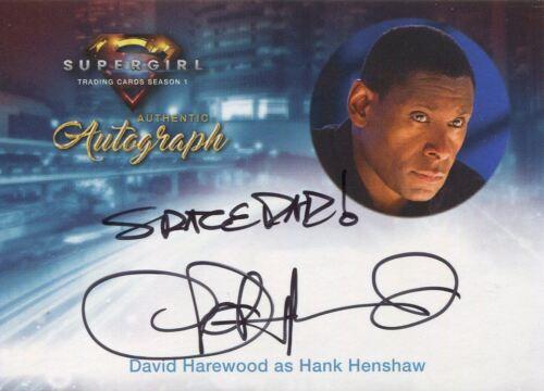 Supergirl Season 1 Autograph Card David Harewood as Hank Henshaw