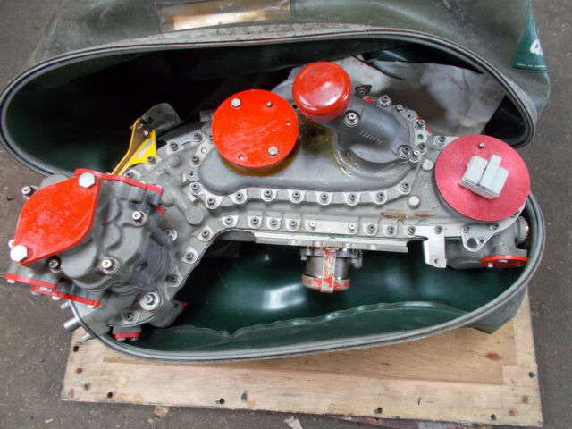 Rolls Royce Gem Engine For Lynx Helicopter Part No 20501