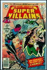 DC Comics Secret Society Of SUPER VILLIANS #5 Sinestro Green Lantern VFN- 7.5