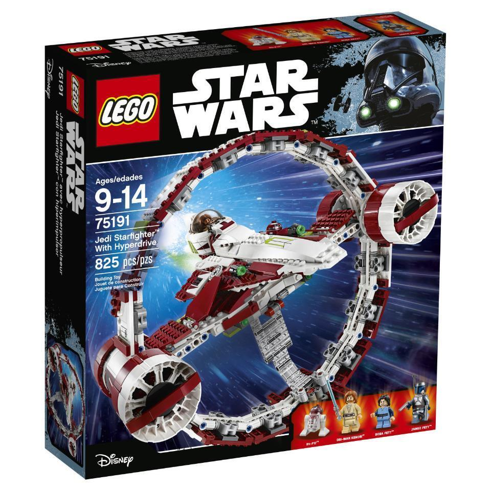 LEGO Star Wars Jedi Starfighter with Hyperdrive (75191)