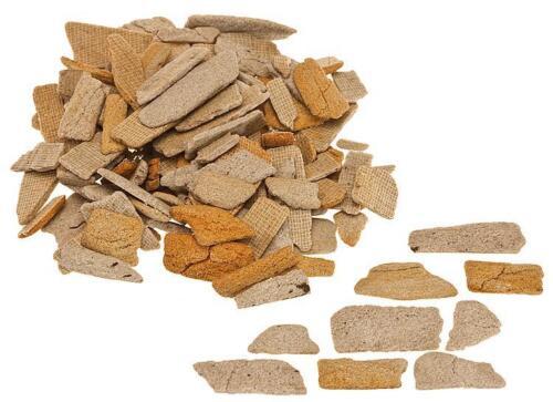 Bruchsteine ocker 350g Grundpreis 1 kg=67,86 Euro FALLER 170909 H0 Naturstein