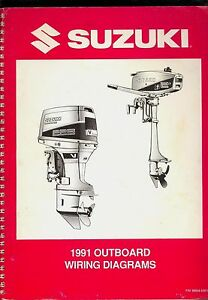 image is loading 1991-suzuki-outboard-electrical-wiring-diagrams-manual