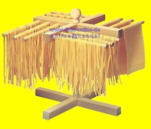 PASTAAID-800-SeccaPasta-Nudeltrockner-Nudelstaender-zerlegbar-aus-Ahornholz-NEU