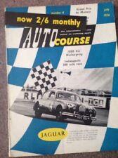 AUTOCOURSE MAGAZINE NO 4 VOL VI JULY 1956 - MONACO GRAND PRIX