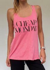 Cheap Monday ladies vibrant pink summer tank top