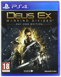 Deus-Ex-Mankind-Divided-Day-One-Edition-For-PS4-New-amp-Sealed