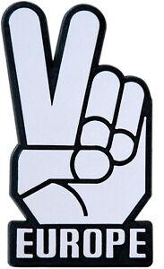 Auto-3D-Aufkleber-Relief-Schild-Victory-Europe-Mr-Spock-V-Hand-HR-Art-14754