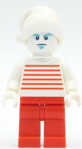 Lego Minifigure Jack Frost and Santa hat