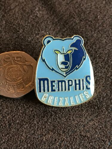 MEMPHIS GRIZZLIES  Basketball NBA  Enamel Pin Badge Mint Condition  Unused