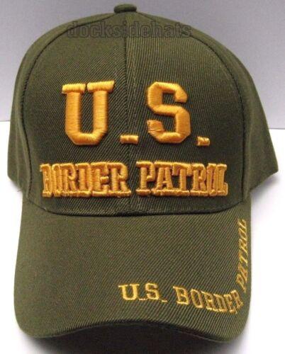 U.S.BORDER PATROL Cap//Hat Green Military FREE Shipping