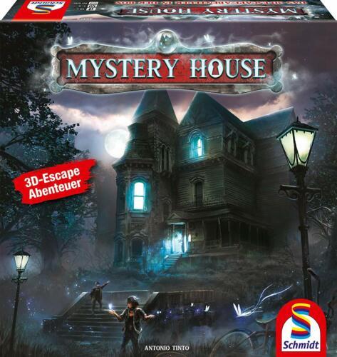 Schmidt 493738-Mystery House-Le 3d Escape aventure