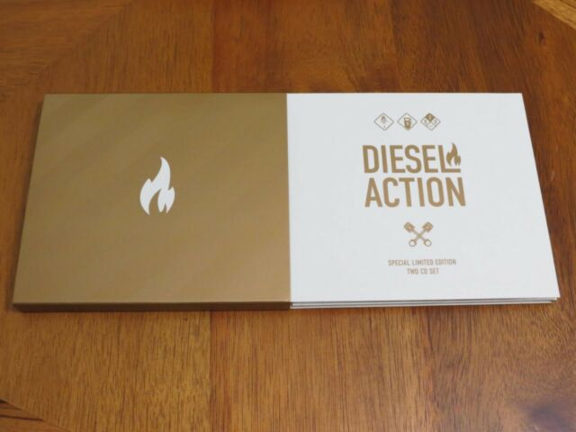 DIESEL ACTION BEST 2CD 2017 ULTRARARE EURODANCE ALBUM SPECIAL LIMITED EDITION