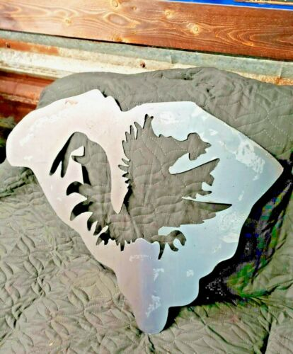 South Carolina Gamecocks metal Wall Art Plasma Cut Home Decor Gift Idea Football
