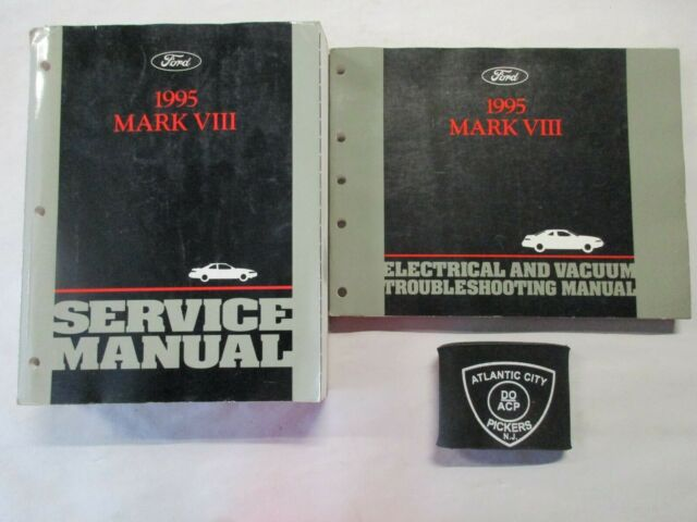 1995 Ford Lincoln Mark Viii Service Shop Repair Manual