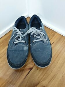 Skechers Mens Relaxed Fit Denim Canvas