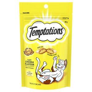 Temptations Tasty Chicken Flavour Cat Treats 85 gram
