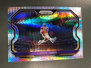 LeBron James 2020/21 Prizm Hyper Prizms #1 Los Angeles Lakers T2