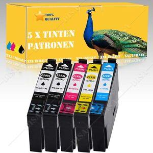 5x-non-original-kompatible-Tinte-fuer-Epson-Expression-Home-XP-432-XP-435-IN17