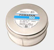 1x bulk roll Foma Fomapan 100 35mm x 30.5 Meter(100ft) B&W Negative film ISO 100